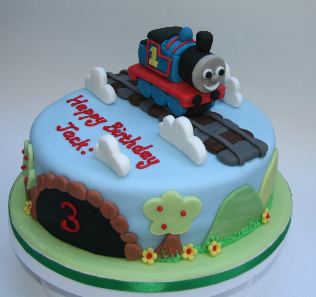 Cake Decorations Thomas The Tank Engine : Thomas the Tank Engine Cake   Gluten free, nut free, dairy ...