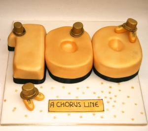 "For the Cast of West End Show ""A Chorus Line"""