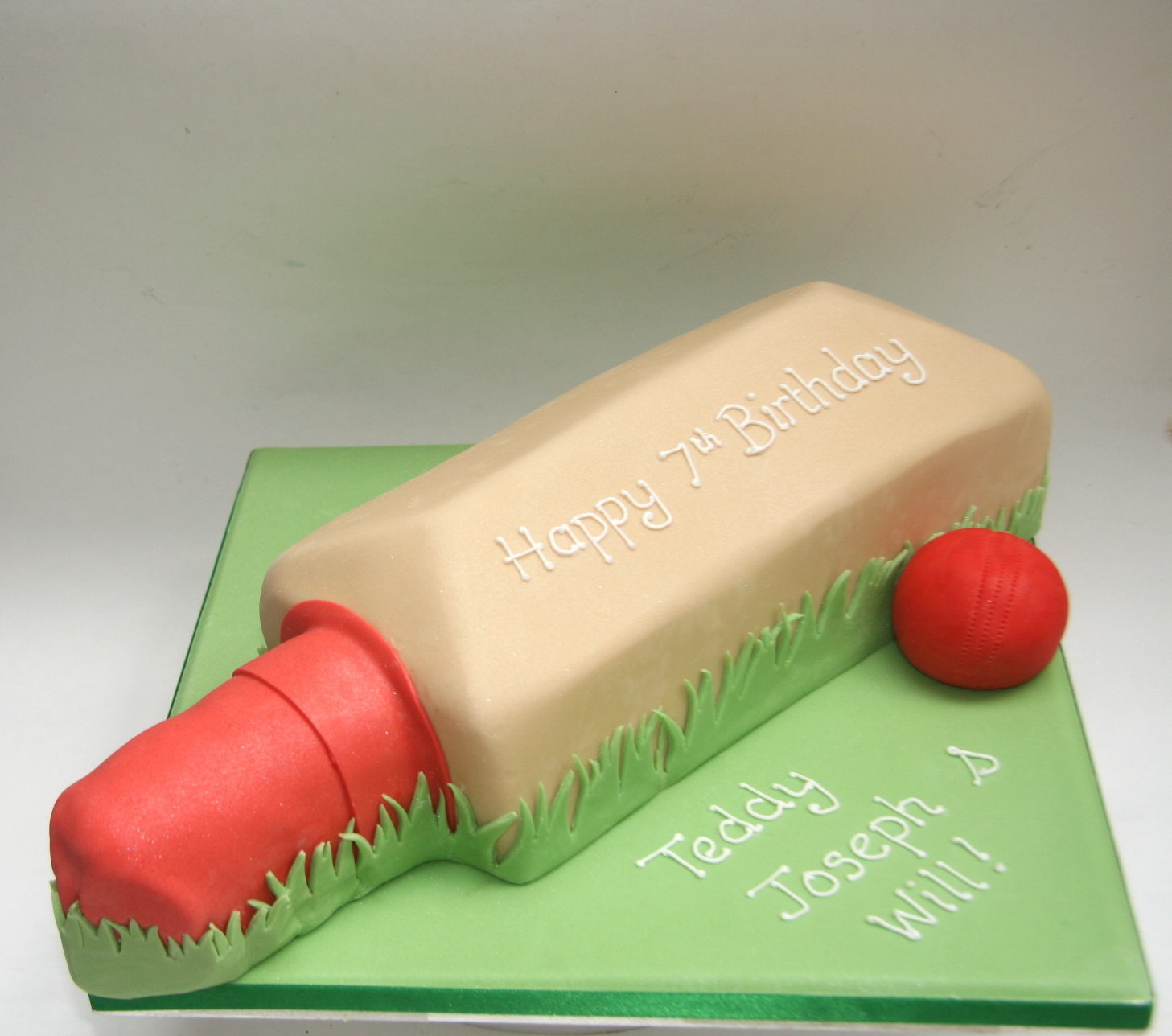 Cricket Bat Cake Images : Cricket Bat Cake Etoile