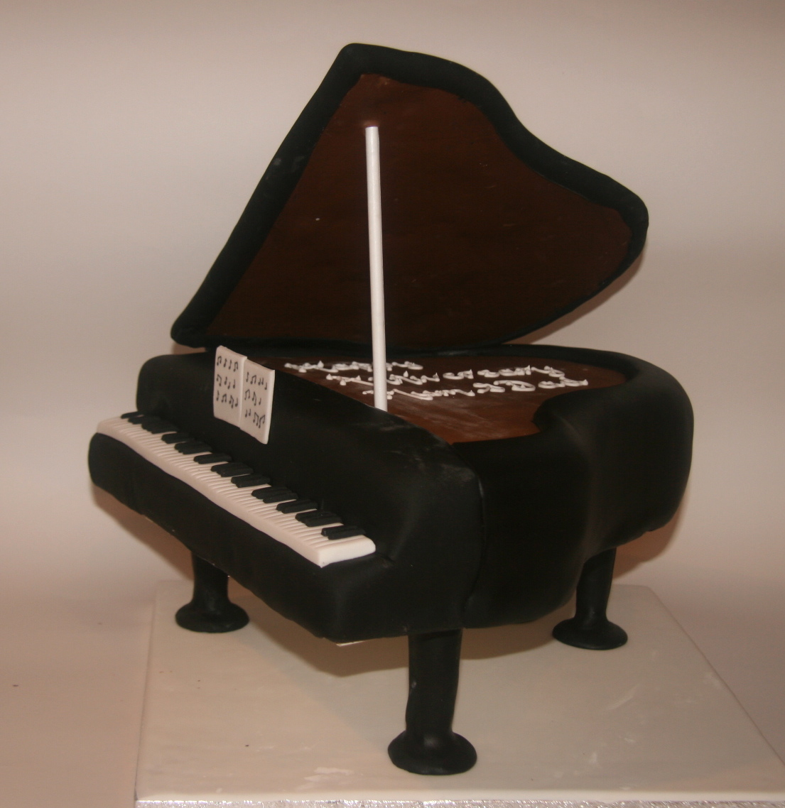 Pin Wilton Piano Cake Pan Mold Tin 2 Piece Set Ebay Cake