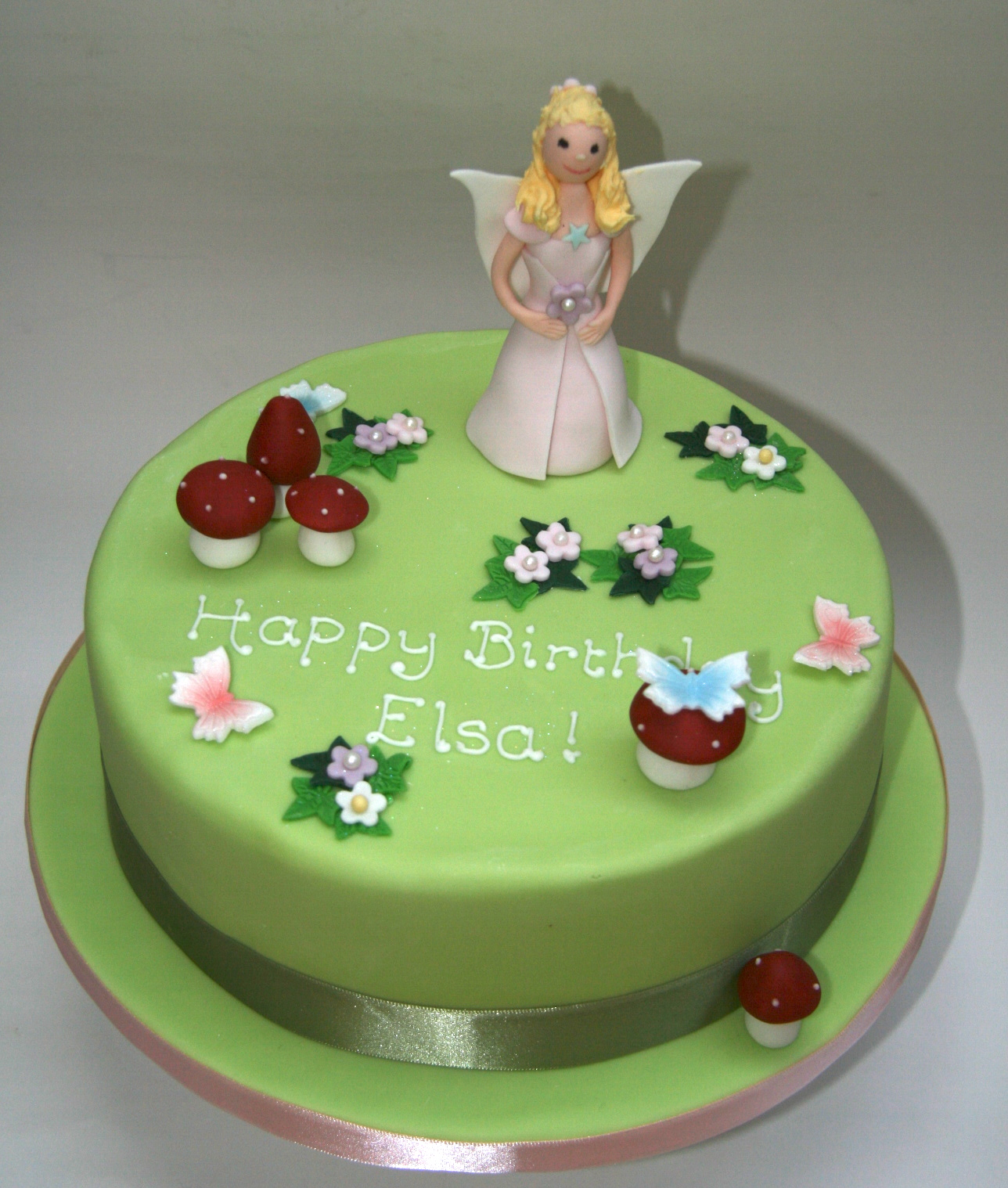 Fairy Princess Cake Images : Fairy Princess Garden Cake Etoile Bakery