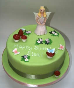 Princess Fairy Garden Cake