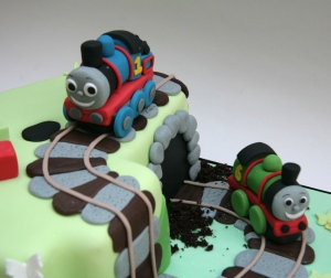 Close up of Thomas and Percy