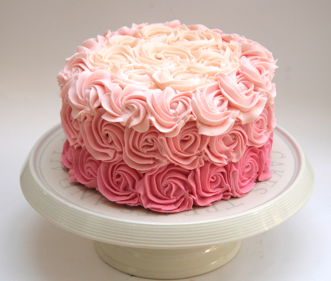 Rose Day Cake Images : Buttercream Rose cake Etoile Bakery