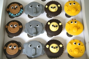 Zoo animal biscuits