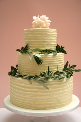 3 Tier Olive Wedding Cake