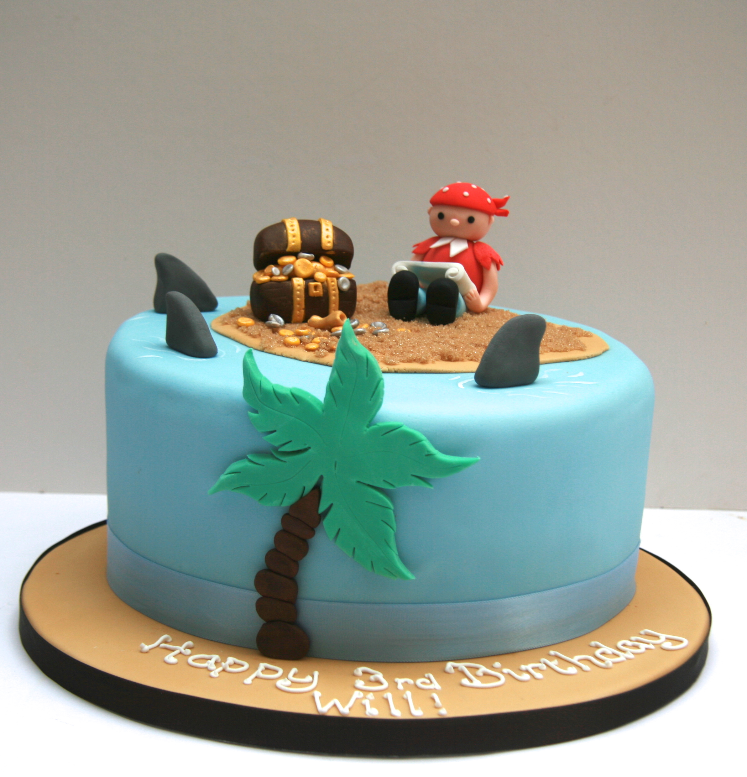Pirate Birthday Cake London Etoile Bakery