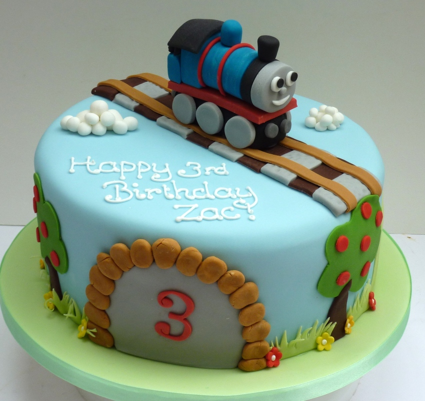 Thomas The Tank Engine Birthday Cake Etoile Bakery