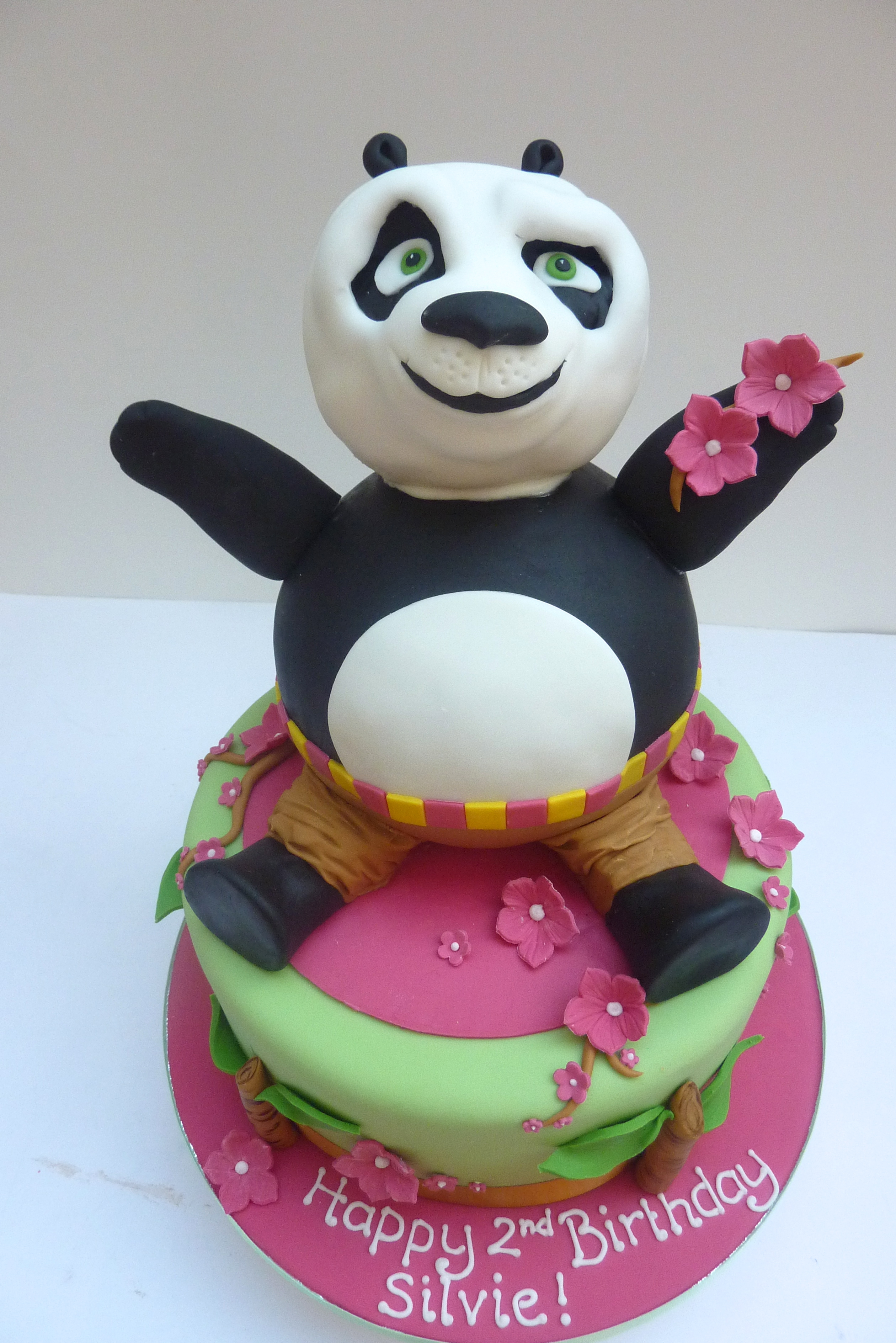 Kung Fu Panda Birthday Cakes London Etoile Bakery