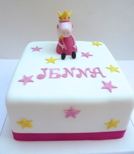 Princess Peppa Birthday Cake