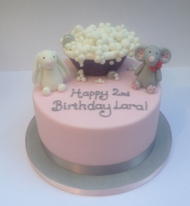 Cuddly Toy Bathtime Cake