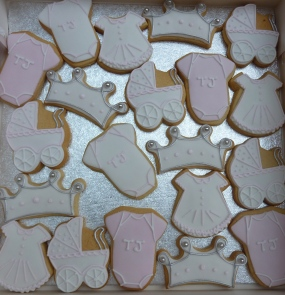 Bespoke Baby Shower Biscuits