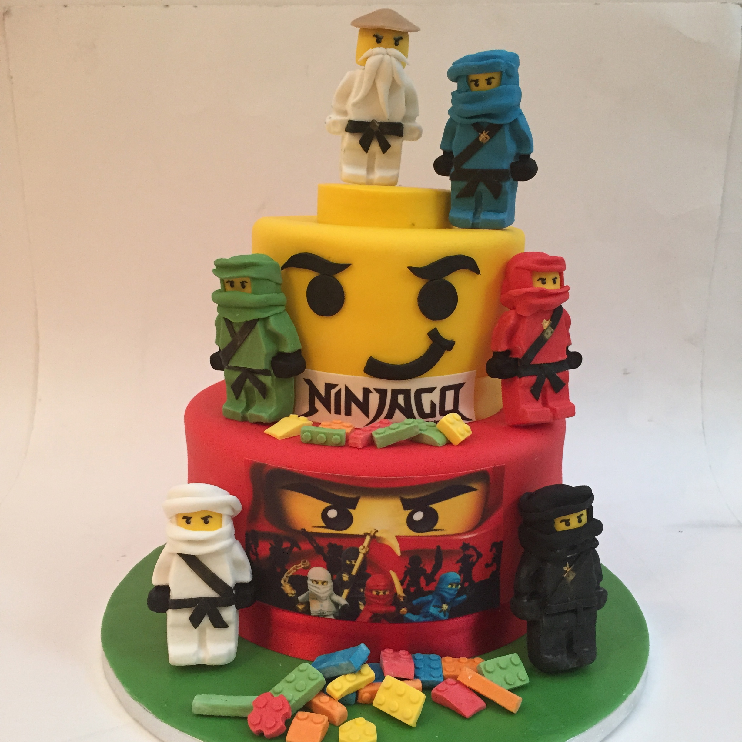 Lego Birthday Cake London Etoile Bakery