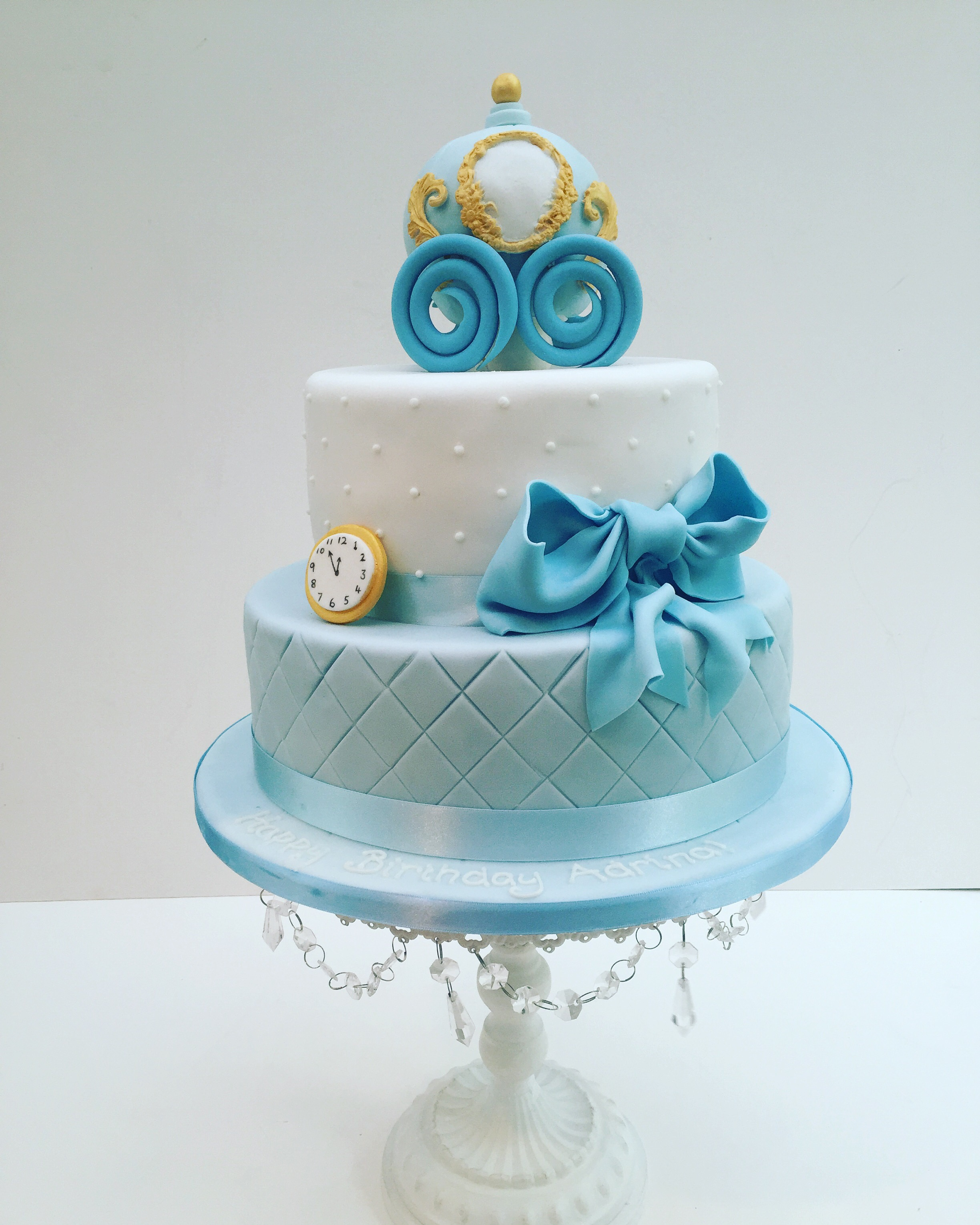 Cinderella and pumpkin carriage cake | Etoile Bakery