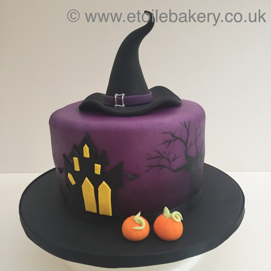 Halloween Witches Hat Cake