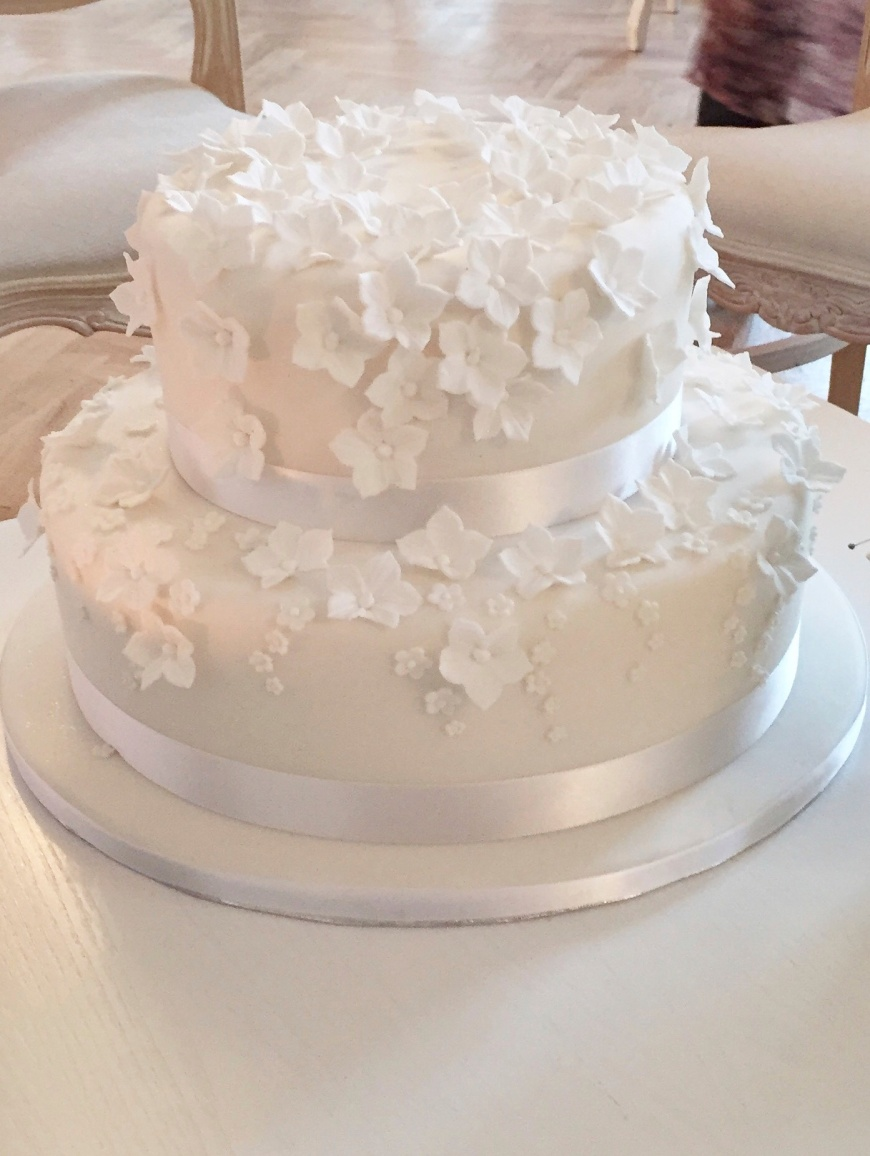 Small Blossom Wedding Cake