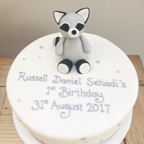 Toy Racoon Cake