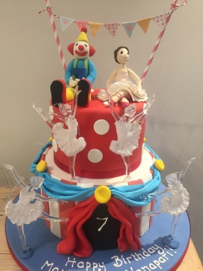 Circus And Ballet Cake